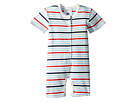Toobydoo Sweet Stripes Shortie Jumpsuit (Infant)