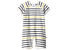 Toobydoo Toobydoo Sunshine Stripe Shortie Jumpsuit (Infant)