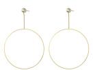 GUESS Dainty Ring on Linear Earrings