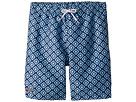 Toobydoo Toobydoo Multi Blue Patterned Swim Shorts (Infant/Toddler/Little Kids/Big Kids)