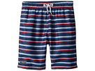 Toobydoo Toobydoo The Classic - Navy Stripe Swim Shorts (Infant/Toddler/Little Kids/Big Kids)