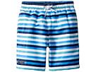 Toobydoo Toobydoo Multi Blue Stripe Swim Shorts (Infant/Toddler/Little Kids/Big Kids)