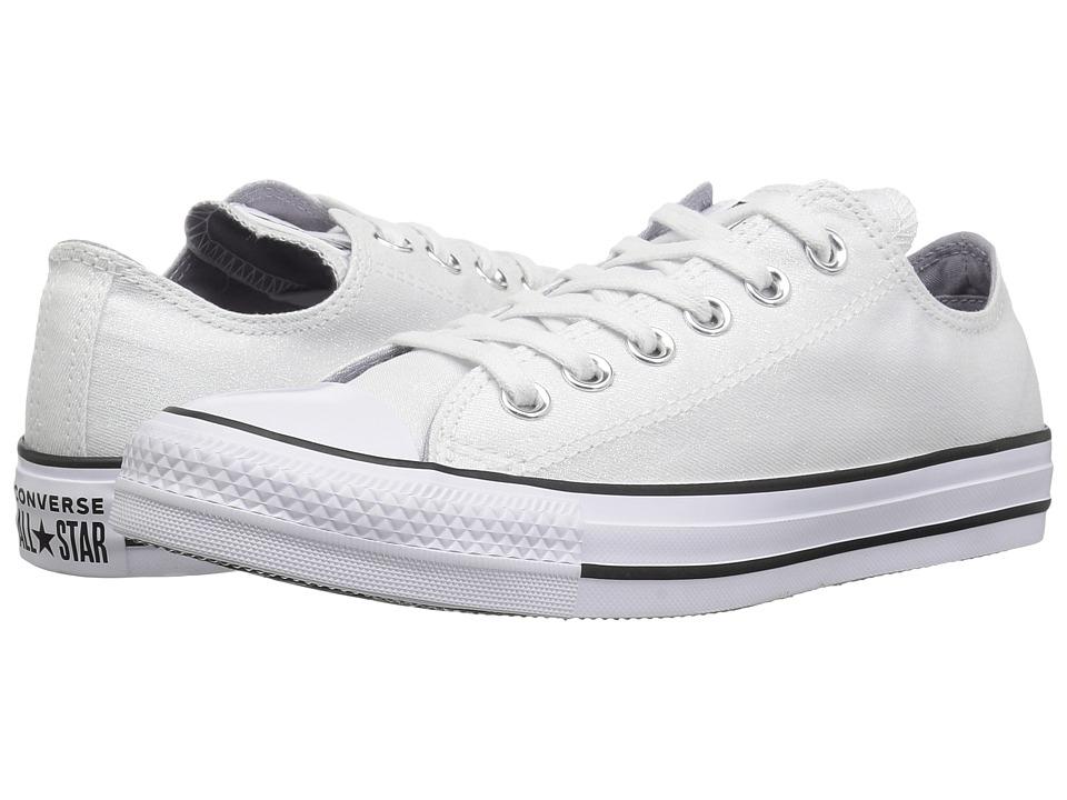Converse Chuck Taylor All Star - Precious Metals Textile Ox (White/White/Black)