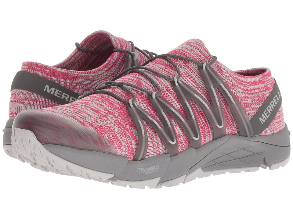Merrell Bare Access Flex Knit (Rose Red) Women's Shoes