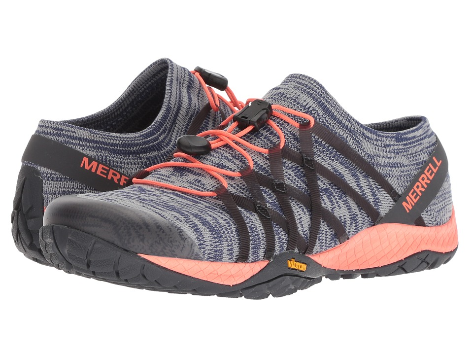 Merrell Trail Glove 4 Knit (Blue Depths) Women's Shoes