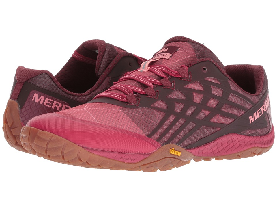 Merrell Trail Glove 4 (Persian Red) Women's Shoes