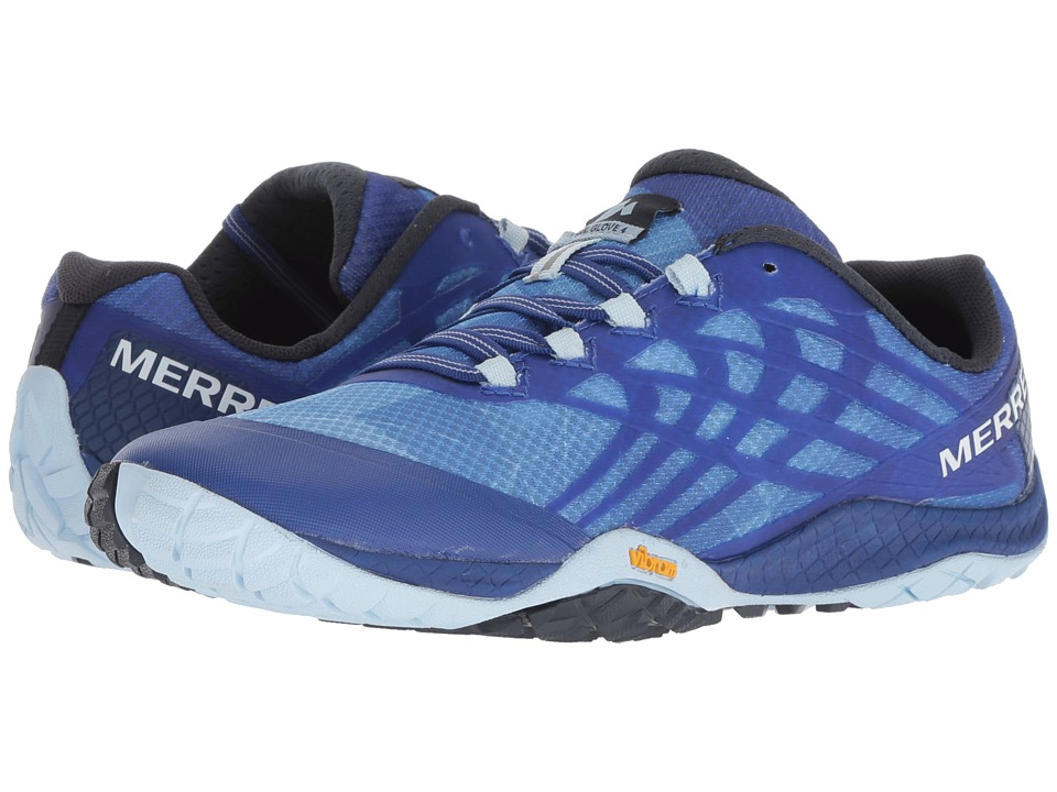 Merrell Trail Glove 4 (Blue Sport) Women's Shoes