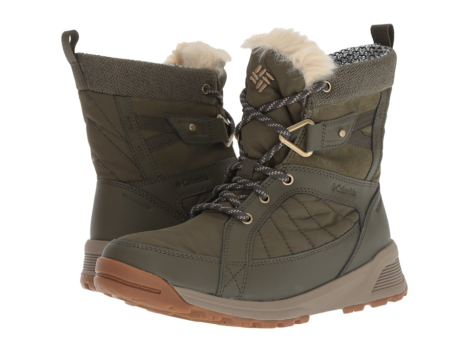 Columbia Meadows Shorty Omni-Heat 3D (Nori/Pebble) Women's Cold Weather Boots