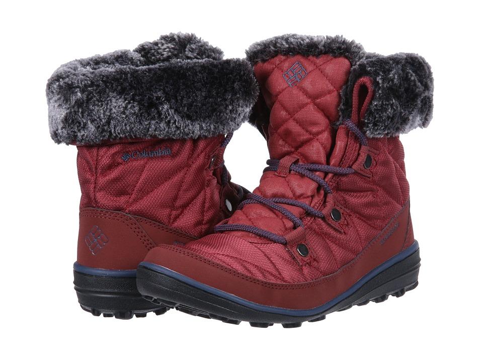 Columbia Heavenly Shorty Camo Omni-Heat (Marsala Red/Zinc) Women's Cold Weather Boots