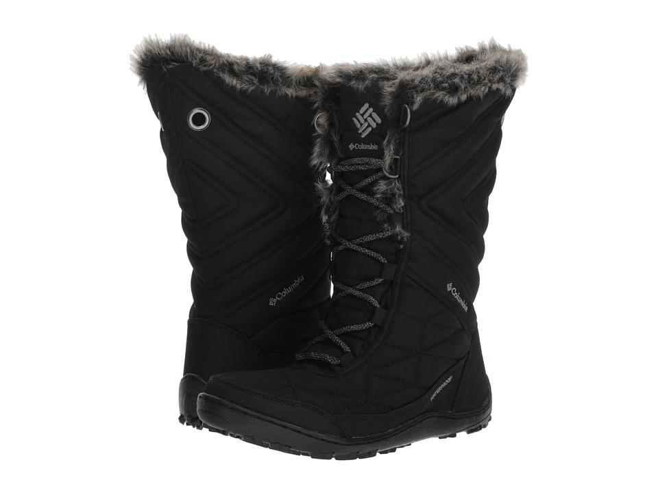 Columbia Minx Mid III (Black/Ti Grey Steel) Women's Cold Weather Boots