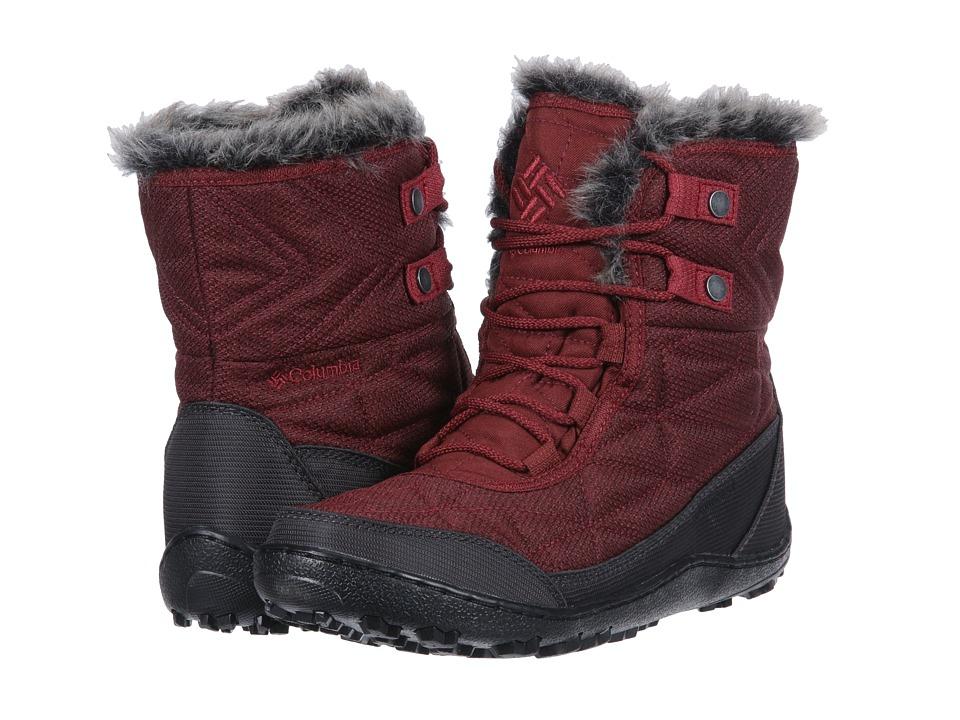 Columbia Minx Shorty III Santa Fe (Deep Rust/Marsala Red) Women's Cold Weather Boots