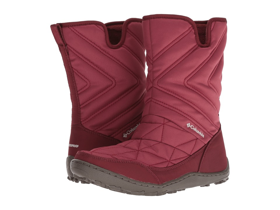 Columbia Minx Slip III (Marsala Red/Fawn) Women's Cold Weather Boots