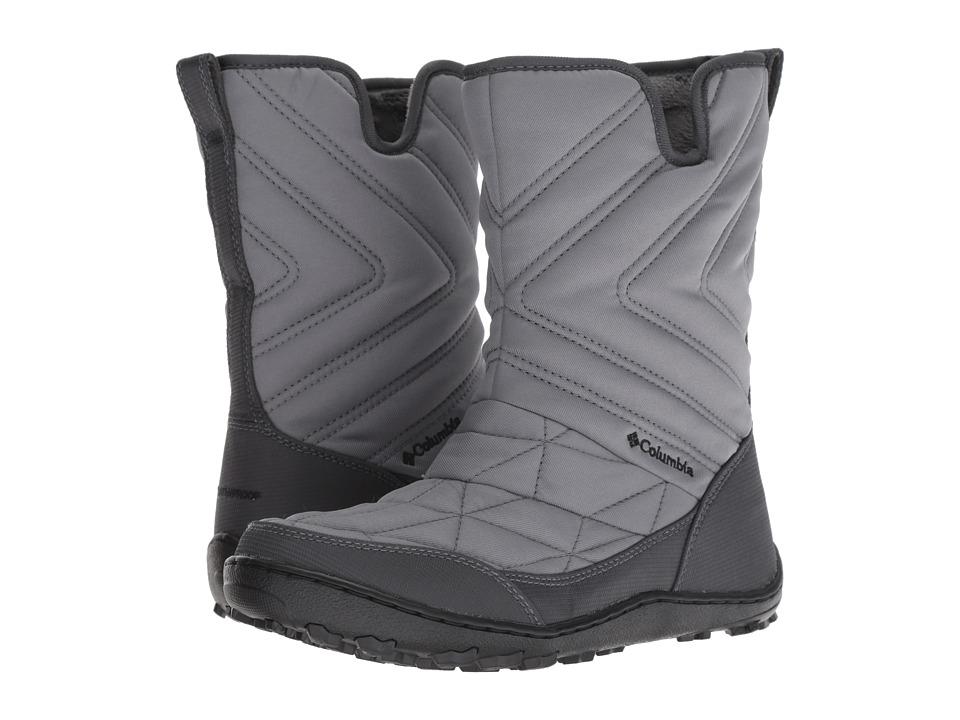Columbia Minx Slip III (Ti Grey Steel/Black) Women's Cold Weather Boots