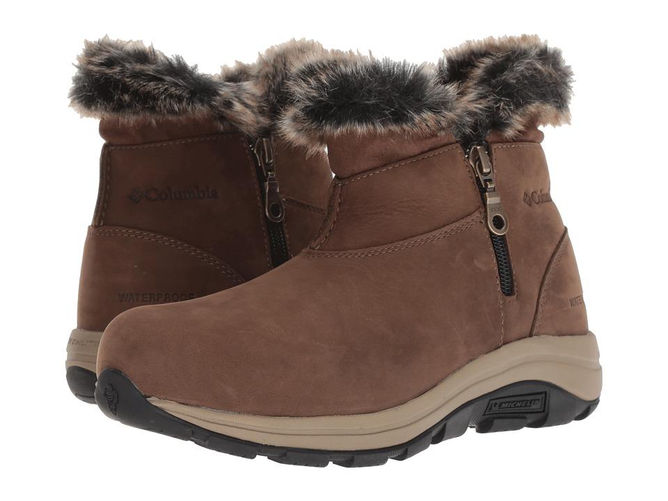 Columbia Bangor Shorty Omni-Heat (Dark Brown/Silver Sage) Women's Cold Weather Boots