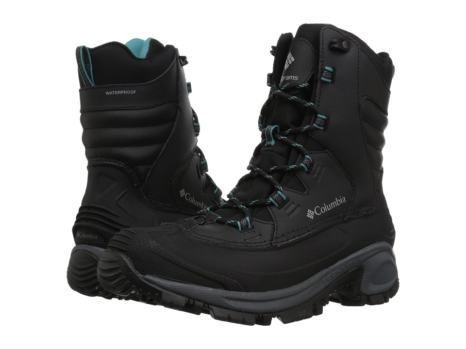 Columbia Bugaboot III (Black/Pacific Rim) Women's Cold Weather Boots