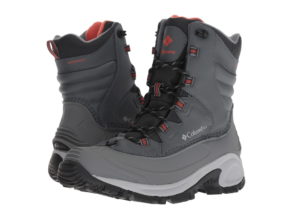 Columbia Bugaboot III (Graphite/Red Canyon) Women's Cold Weather Boots