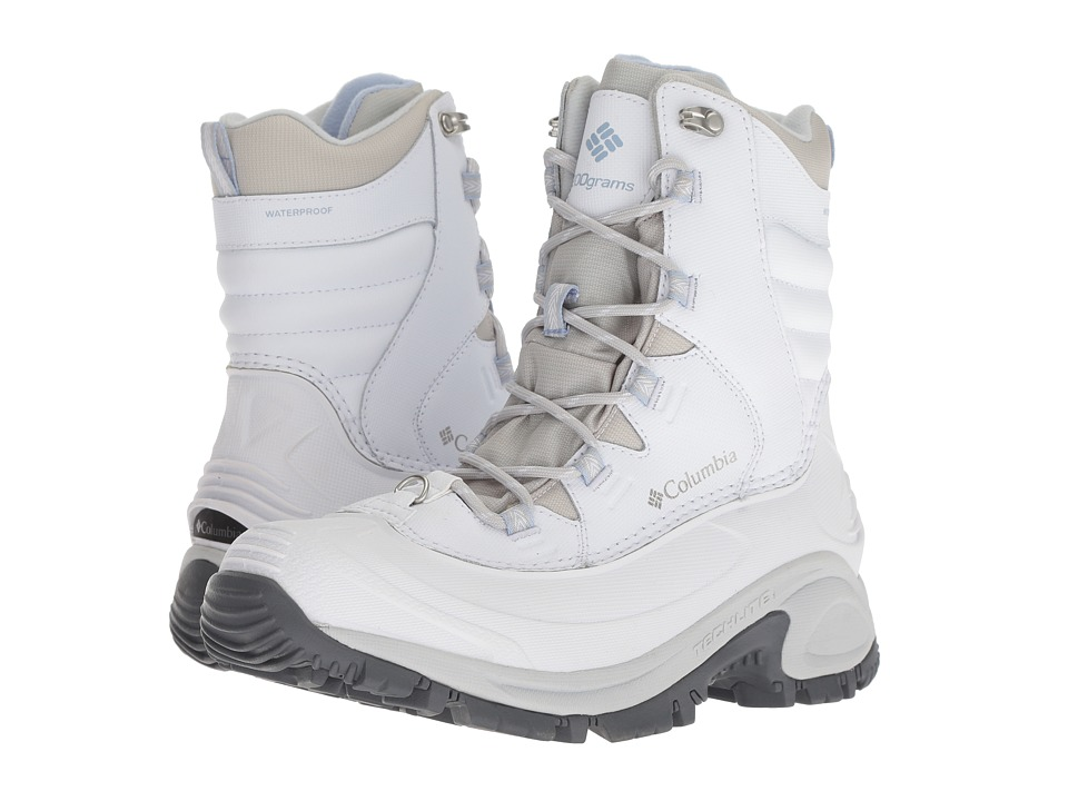 Columbia Bugaboot III (White/Faded Sky) Women's Cold Weather Boots
