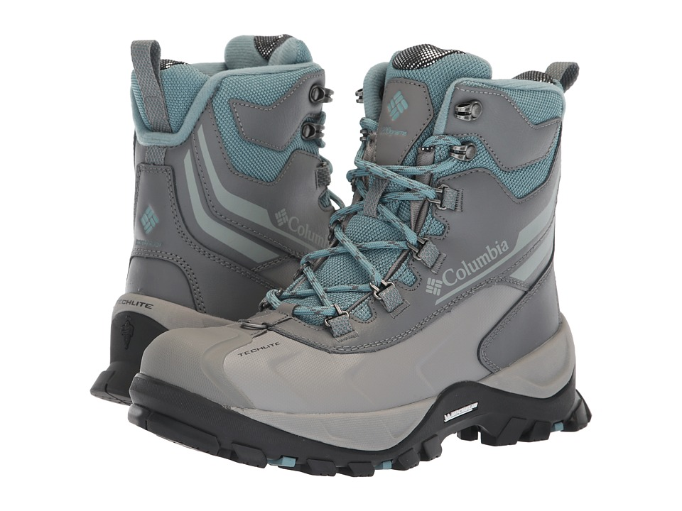 Columbia Bugaboot Plus IV Omni-Heat (Storm/Earl Grey) Women's Cold Weather Boots