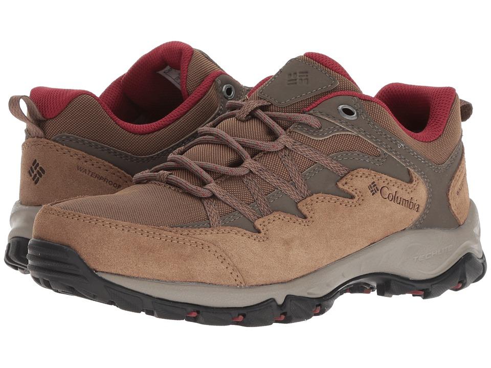 Columbia Wahkeena Waterproof (Delta/Marsala Red) Women's Shoes