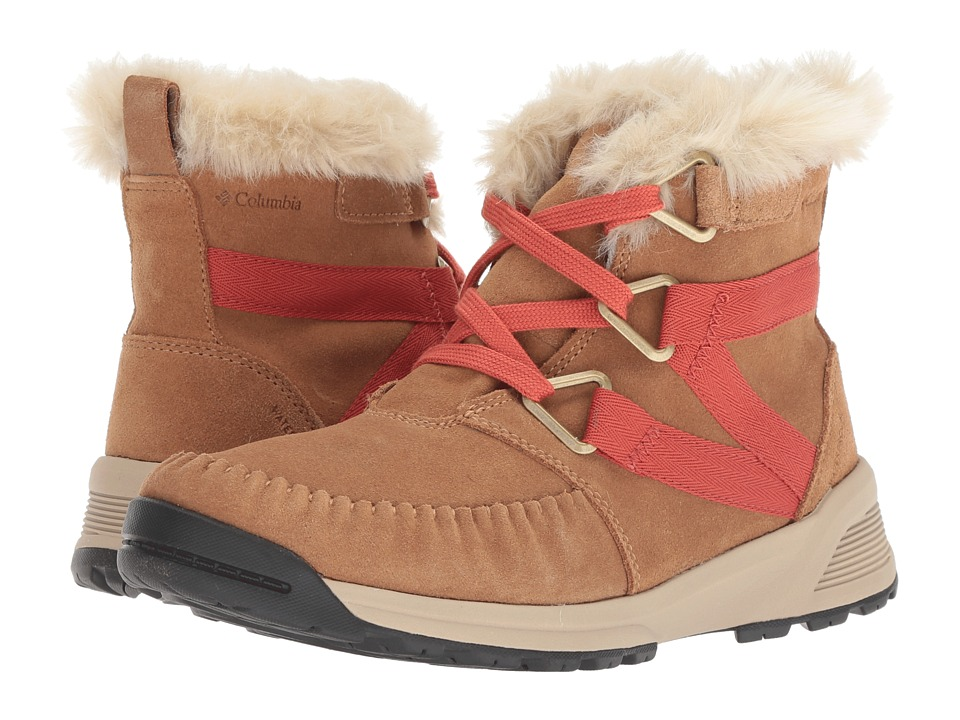 Columbia Maragal Mid WP (Elk/Red Canyon) Women's Cold Weather Boots