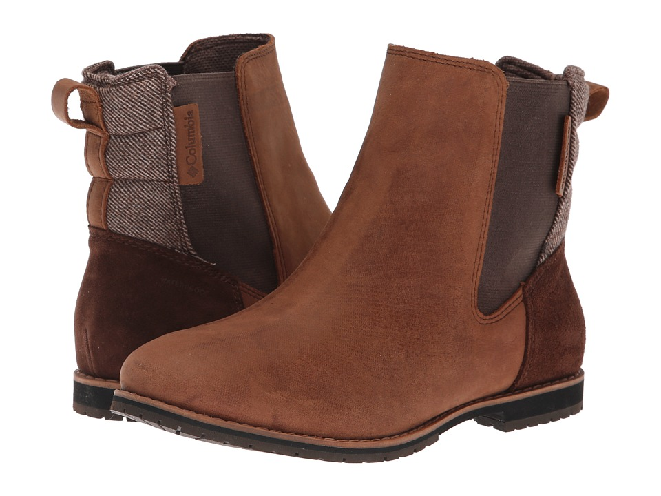Columbia Twentythird Ave Chelsea WP (Tobacco/Elk) Women's Cold Weather Boots