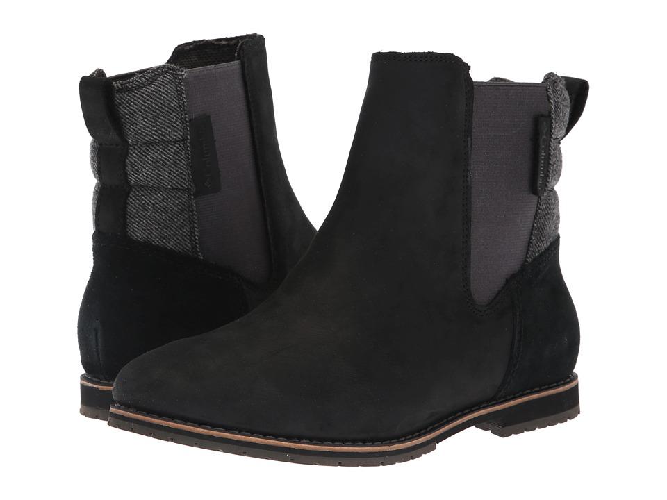 Columbia Twentythird Ave Chelsea WP (Black/Steam) Women's Cold Weather Boots