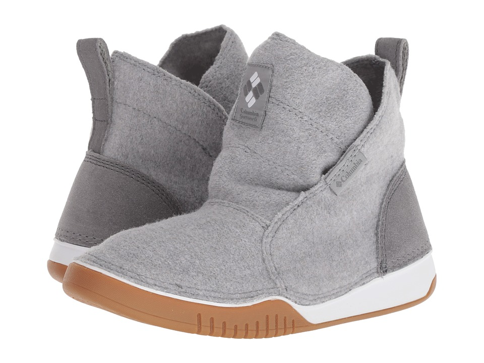 Columbia Bridgeport Mid Wool (Steam/Ti Grey Steel) Women's Cold Weather Boots