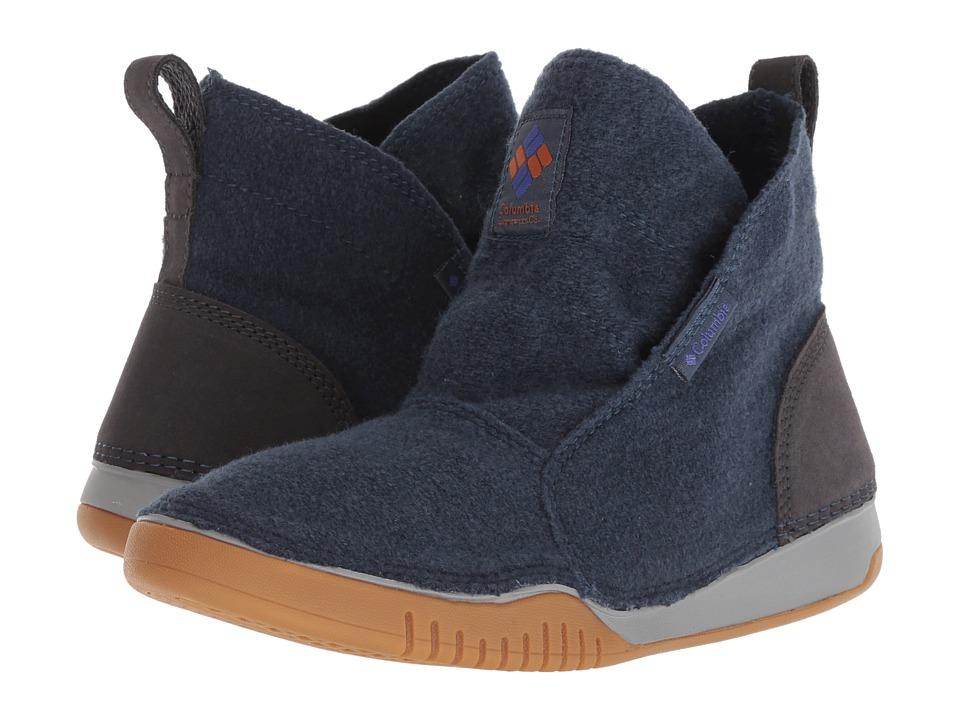 Columbia Bridgeport Mid Wool (Zinc/Bright Copper) Women's Cold Weather Boots