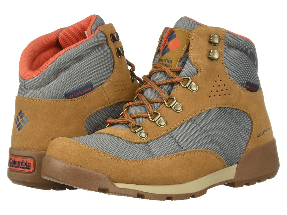Columbia Endicott Classic Mid WP (TI Grey Steel/Red Canyon) Women's Shoes