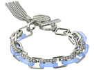 GUESS Link Toggle Bracelet with Charm Tassel