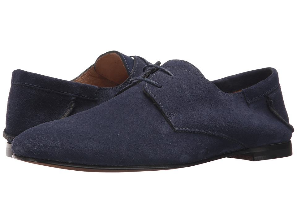 Paul Andrew - Ezra Suede Oxford (Navy) Mens Shoes