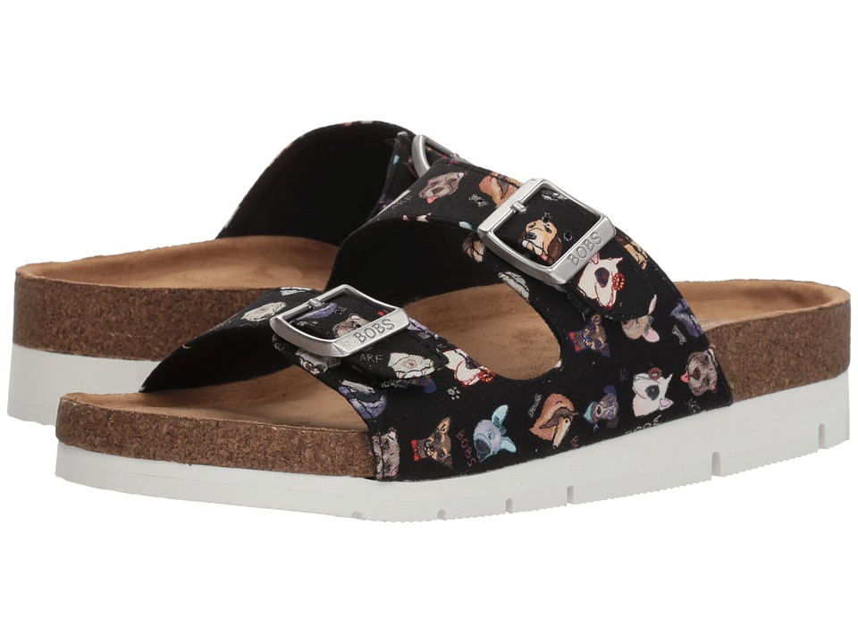 BOBS from SKECHERS Bobs Bohemian - Canine (Black) Women's Shoes