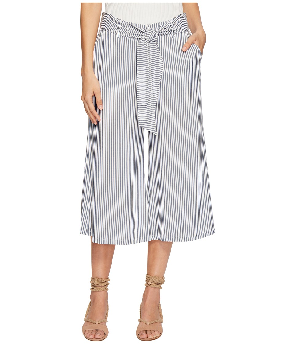 Vintage High Waisted Trousers, Sailor Pants, Jeans Jack by BB Dakota - Selva Boyfriend Stripe Cropped Pants Off-White Womens Casual Pants $75.00 AT vintagedancer.com