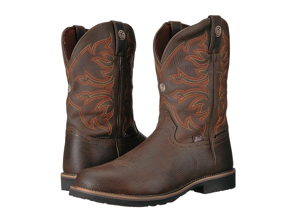Justin - Aransas (Chocolate Brown) Cowboy Boots