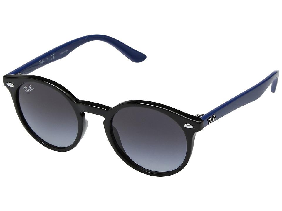 Ray-Ban Junior RJ9064S 44mm (Youth) (Black/Grey Gradient 1) Fashion Sunglasses
