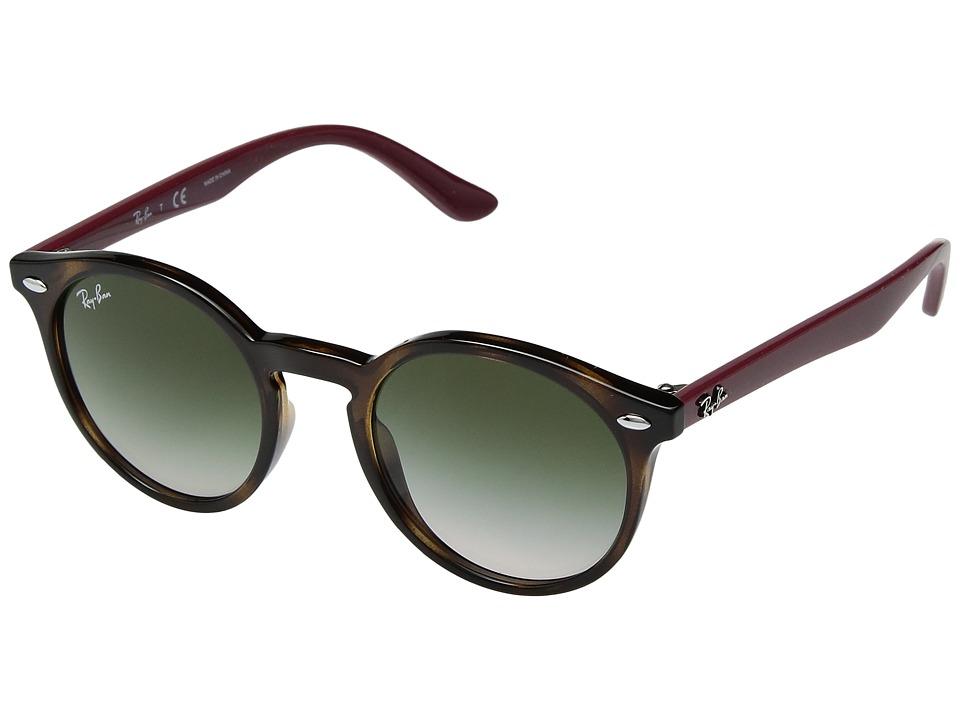 Ray-Ban Junior RJ9064S 44mm (Youth) (Havana/Light Brown Gradient) Fashion Sunglasses
