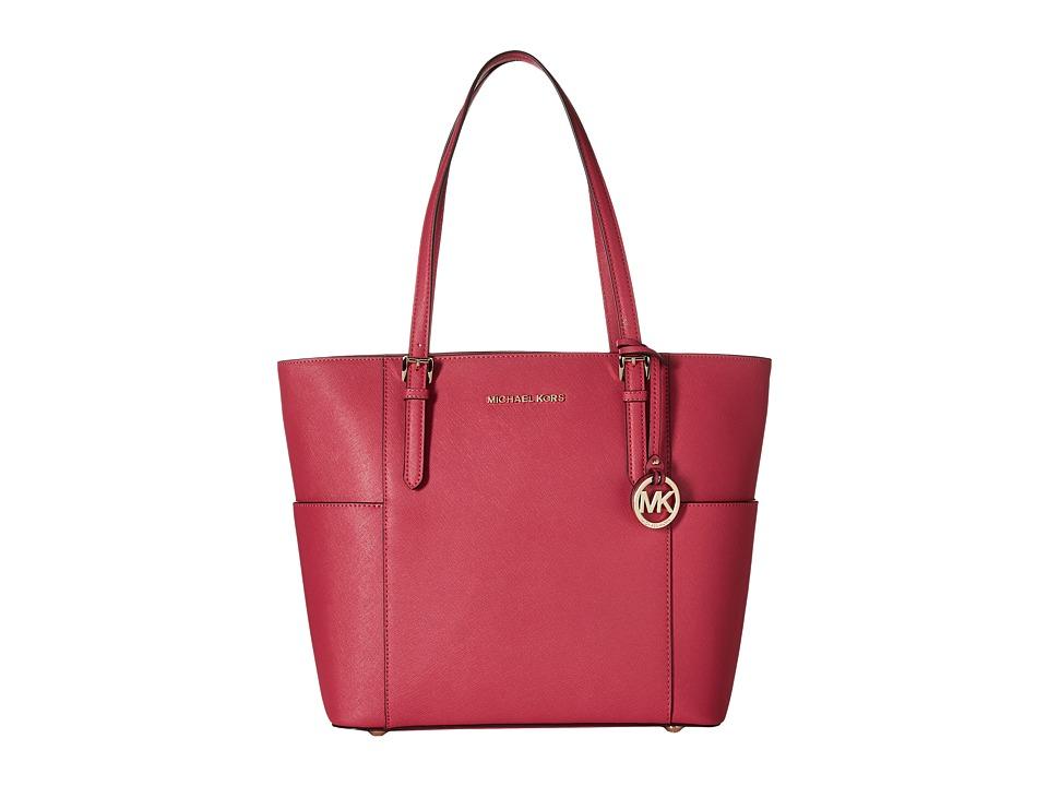 MICHAEL Michael Kors - Jet Set Travel Large Tote (Ultra Pink) Tote Handbags
