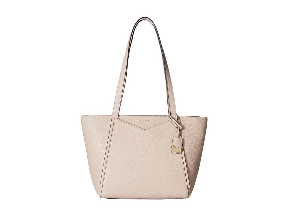 Michael Kors Whitney Small Top Zip Tote (Soft Pink) Tote ...
