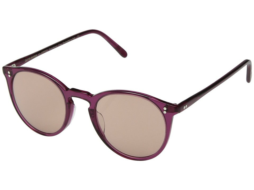 Oliver Peoples - OMalley Sun (Bright Magenta/Mauve Rose Photochromic) Fashion Sunglasses