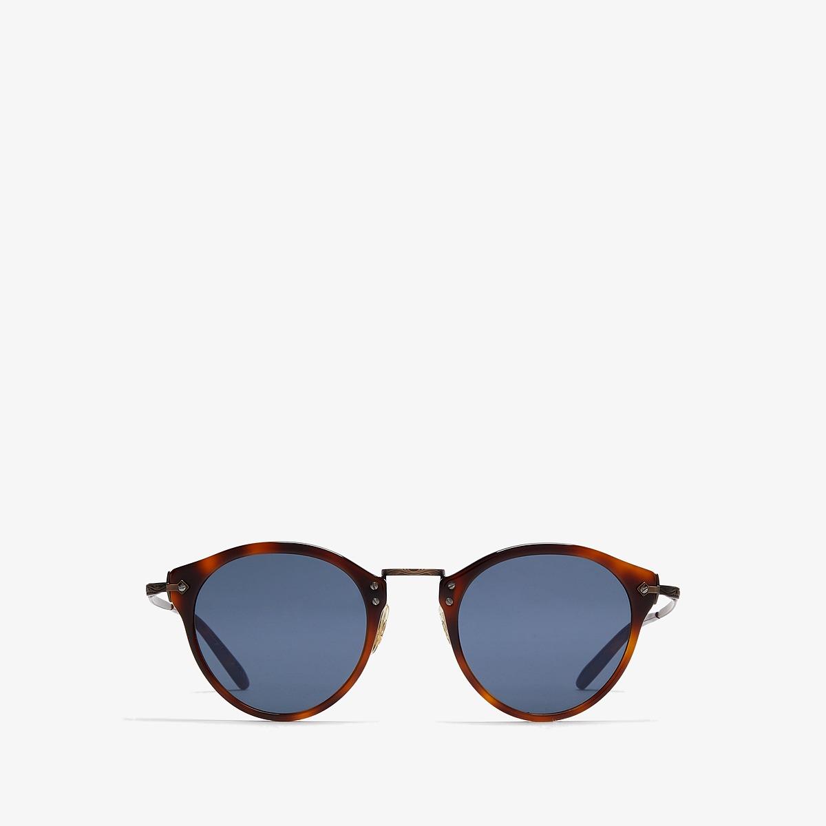 Oliver Peoples - OP-505 Sun (Dark Mahogany/Bronze/Blue) Fashion Sunglasses