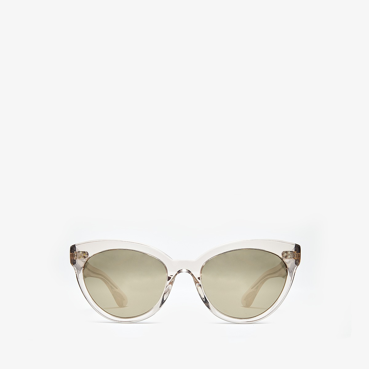 Oliver Peoples - Roella (Dune/Taupe Flash Mirror) Fashion Sunglasses