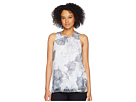 Vince Camuto Sleeveless Etched Island Floral Blouse