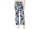Vince Camuto Woodblock Floral Wide Leg Pull-On Pants