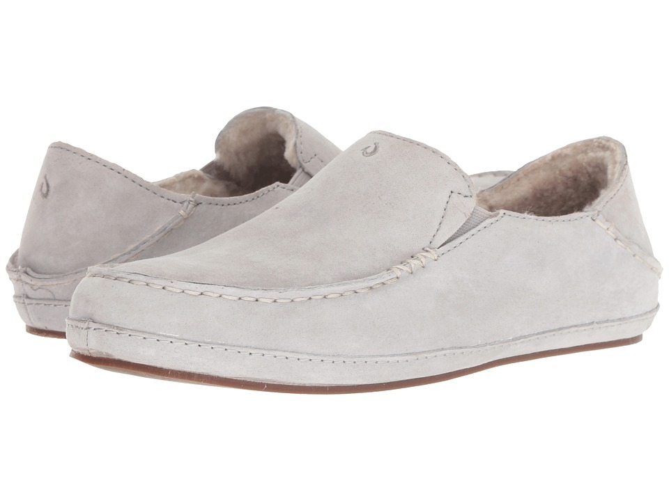 OluKai Nohea Slipper (Pale Grey) Slippers