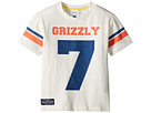 Toobydoo Sports Jersey Grizzly Tee (Toddler/Little Kids/Big Kids)