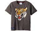 Toobydoo Toobydoo Roar! Grey Tiger Tee (Toddler/Little Kids/Big Kids)