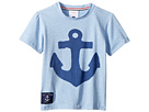 Toobydoo Ship Ahoy! Anchor Tee (Toddler/Little Kids/Big Kids)