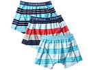 Toobydoo Toobydoo Multi Stripe Boxers Underwear 3-Pack (Infant/Toddler/Little Kids/Big Kids)