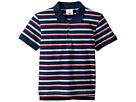 Toobydoo Toobydoo Navy Stripe Polo (Infant/Toddler/Little Kids/Big Kids)