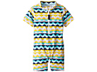 Toobydoo Fun Pattern Sunsuit (Infant/Toddler)